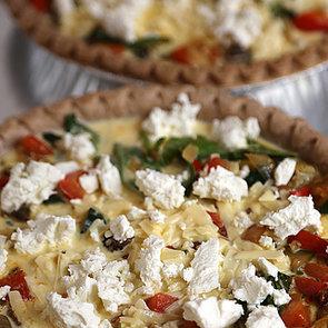 Vegetarian Mediterranean Quiche Recipe