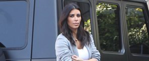 It's Here: Kim Kardashian's $20,000 Hermès Bag — Hand-Painted by North West