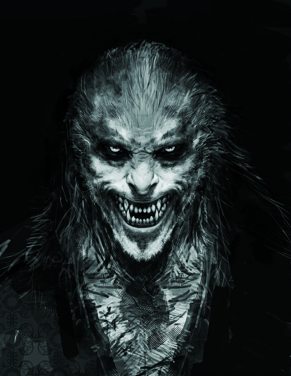 fenrir greyback harry potters original concept art