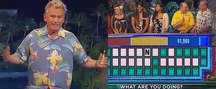 Pat Sajak Is Absolutely Baffled by These Wheel of Fortune Guesses