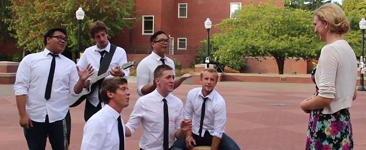 These Guys Pulled the Most Romantic College Prank Ever