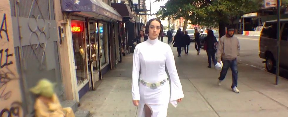 Even Princess Leia Has to Deal With Street Harassment