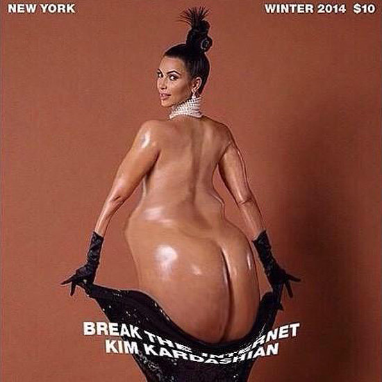 Celebrity Reactions to Kim Kardashian Paper Magazine Shoot