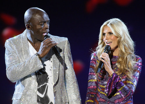 Seal and wife Heidi Klum belted out a duet during the 2007 show.