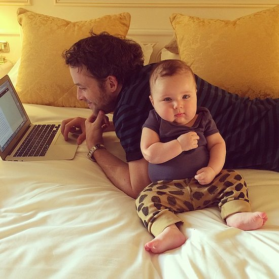 Hamish Blake and Zoe Foster-Blake's Cute Baby Sonny