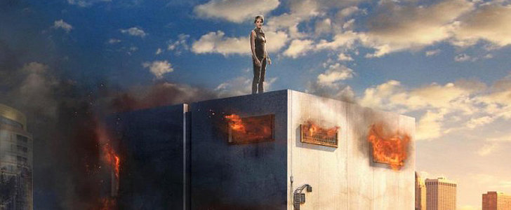 Tris's World Is on Fire in the New Insurgent Poster