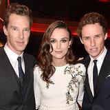 Keira Knightley Found Herself in the Middle of a Hot Brit Sandwich