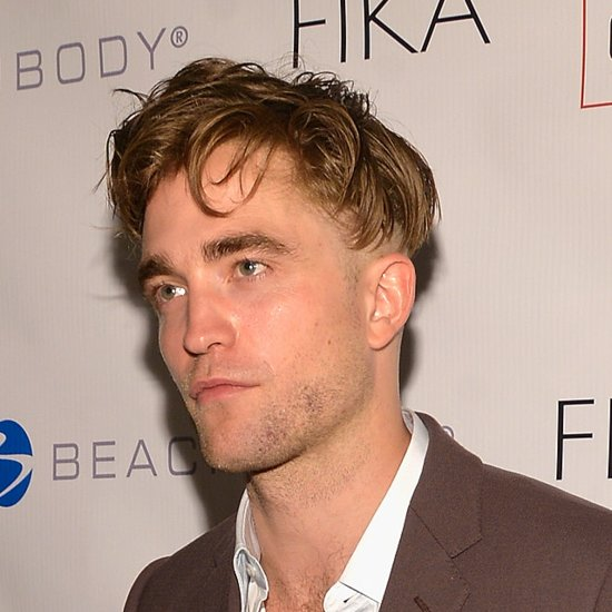 Robert Pattinson's New Hair Patch