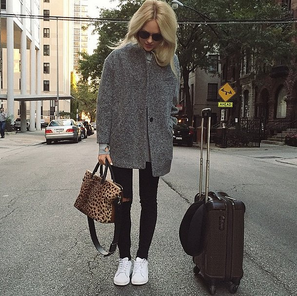 Real Girl Travel Outfit Ideas | POPSUGAR Fashion