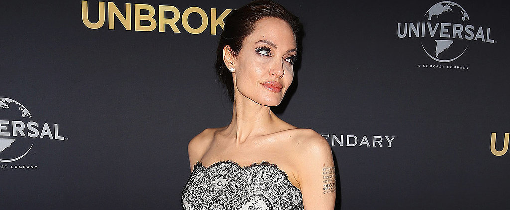 You Need to See Angelina Jolie's Gorgeous Gucci Gown