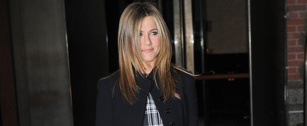 Jennifer Aniston Just Stepped Out in Your Perfect Holiday Outfit
