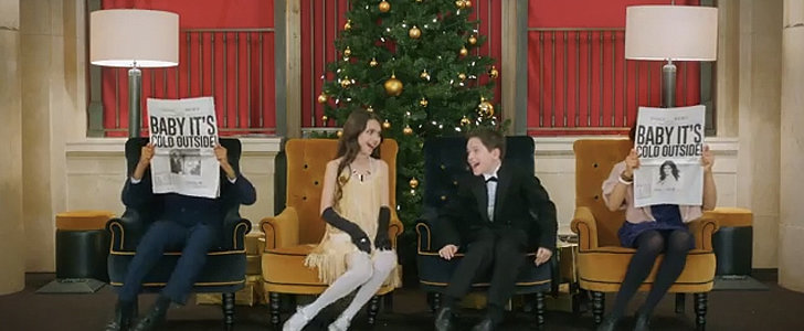 """Idina Menzel and Michael Bublé's """"Baby, It's Cold Outside"""" Video Is the Cutest"""