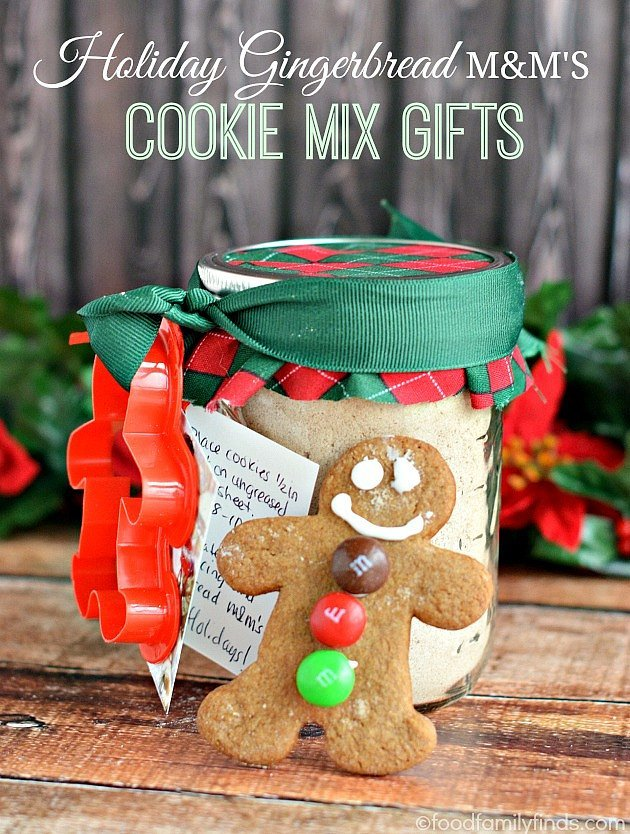 Gingerbread Cookie Mix | 45 DIY Gifts For Co-Workers, Cousins, or ...