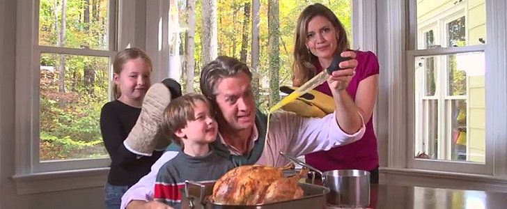 "Happy Thanksgiving: 1 Family Proves That Today Is ""All About That Baste"""