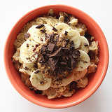 Healthy Banana Chocolate Oatmeal Recipe