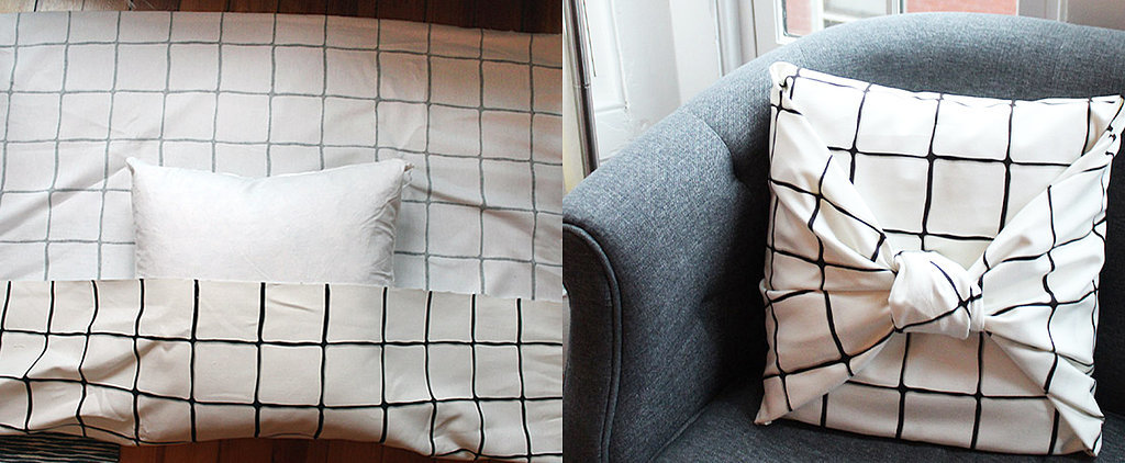 You'll Never Believe How Easy It Is to Make a No-Sew Pillow