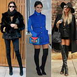 How to Wear Over-the-Knee and Thigh-High Boots