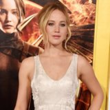 Jennifer Lawrence Dior Dress at the Mockingjay Premiere
