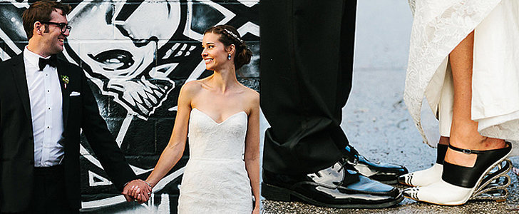 Fall in Love With This Fashion-Forward, Rainy-Day Wedding