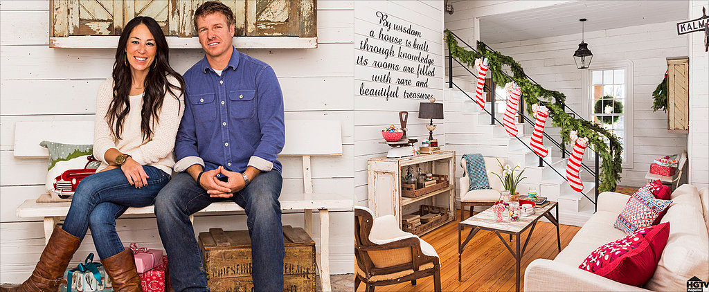 See How Chip and Joanna Gaines Deck Out Their Farmhouse For the Holidays