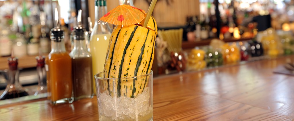 Thank the Gourd For This Adorable Fall Cocktail