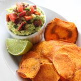Healthy Sweet Potato Chips Recipe