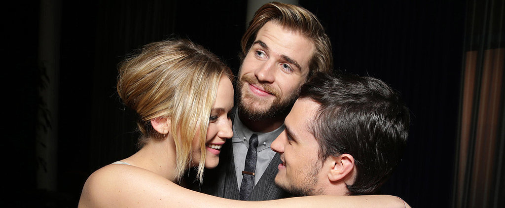 Jennifer Lawrence's Cutest Moments With Her Hunger Games Costars