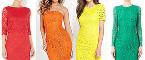 Somewhere Over the Rainbow There's a Colourful Lace Dress For You