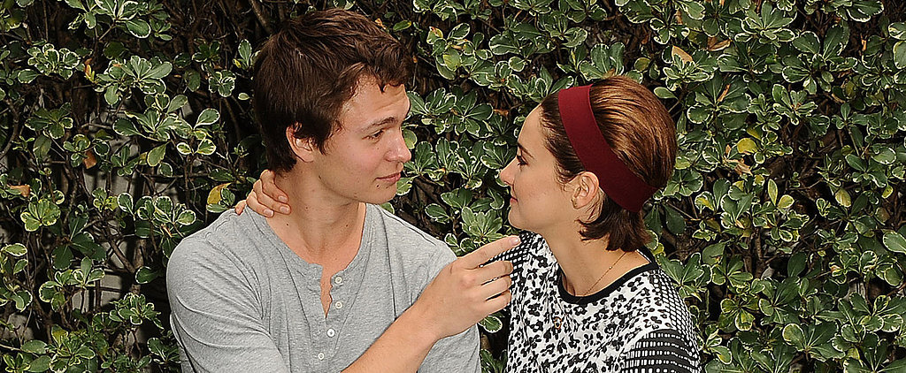 Ansel Elgort and Shailene Woodley Re-Create That Magical TFIOS Bench Scene