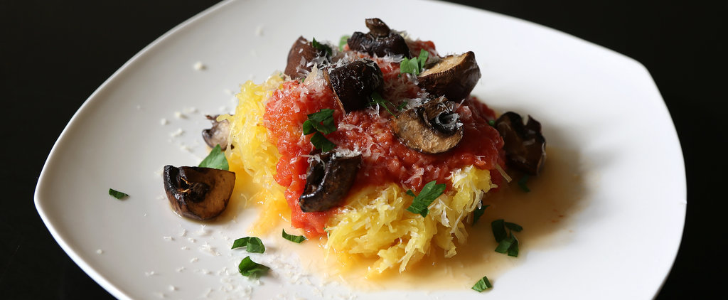 Keep Dinner Fast and Easy With This Vegetarian Spaghetti Squash Spaghetti