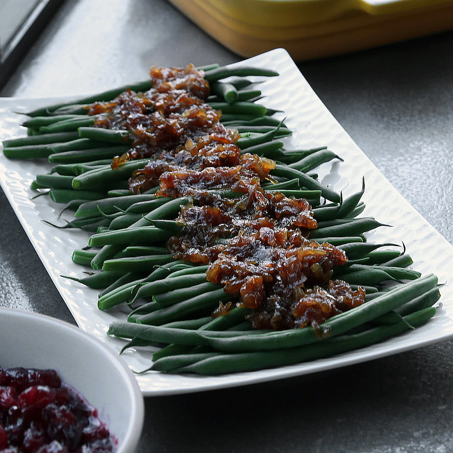 Green Beans With Caramelized Onions