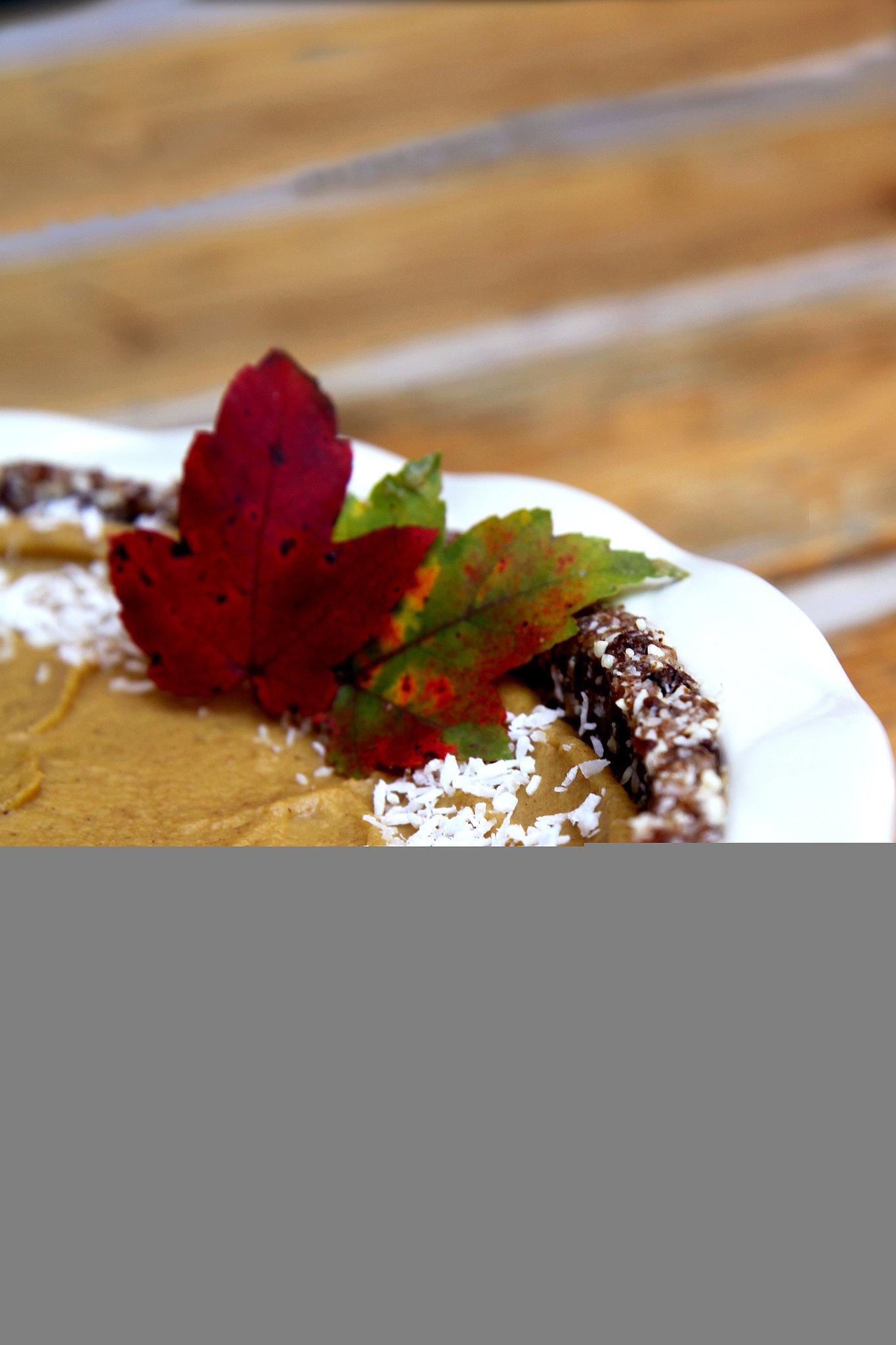 Raw, Vegan, Gluten-Free Pumpkin Pie | 20 Healthy Desserts ...