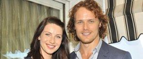 "Outlander Stars Sam Heughan and Caitriona Balfe on Their ""Tough"" Onscreen Moment Ahead"