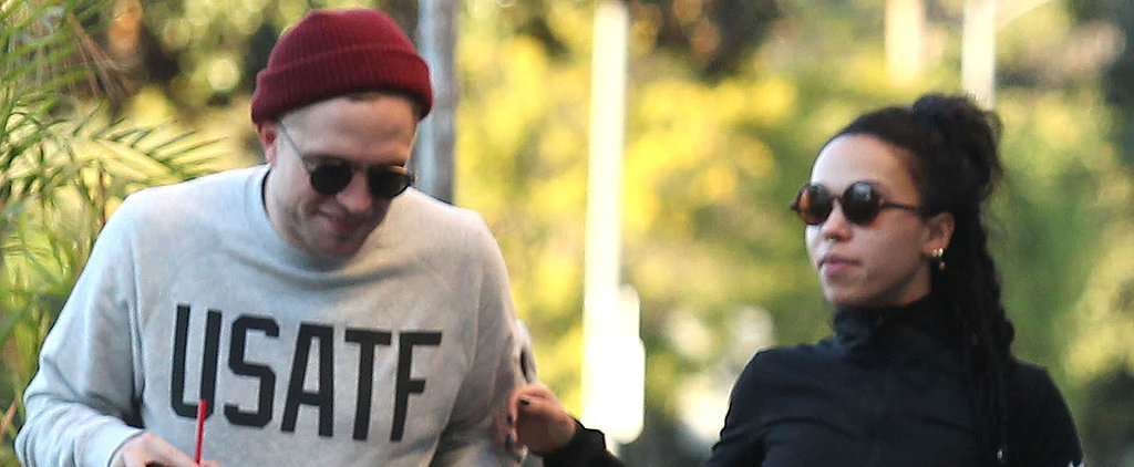 Robert Pattinson Grabs a Handful of FKA Twigs's Bum