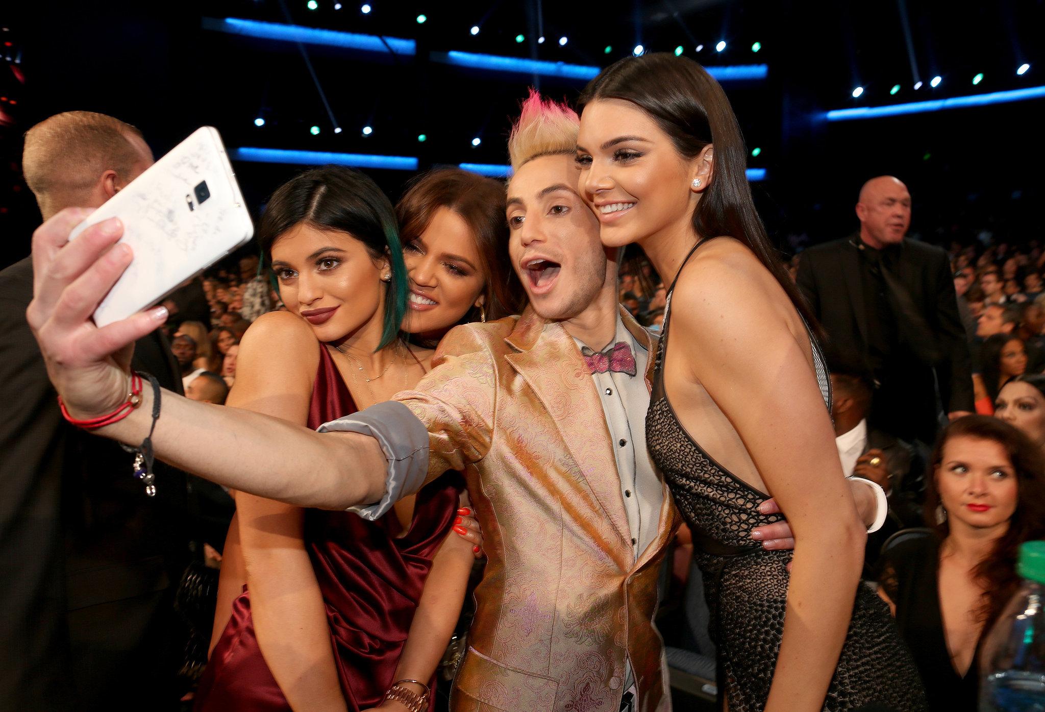 Kylie Jenner Khlo 233 Kardashian Frankie J Grande And Kendall Jenner The Best Amas Moments