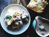 Biscuits and Sage Sausage Gravy