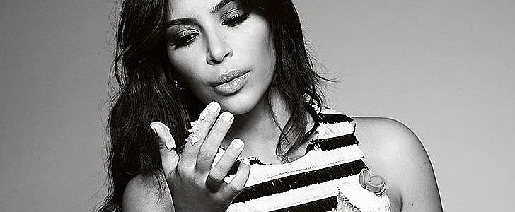 Kim's All About Confidence On the Cover of Elle UK