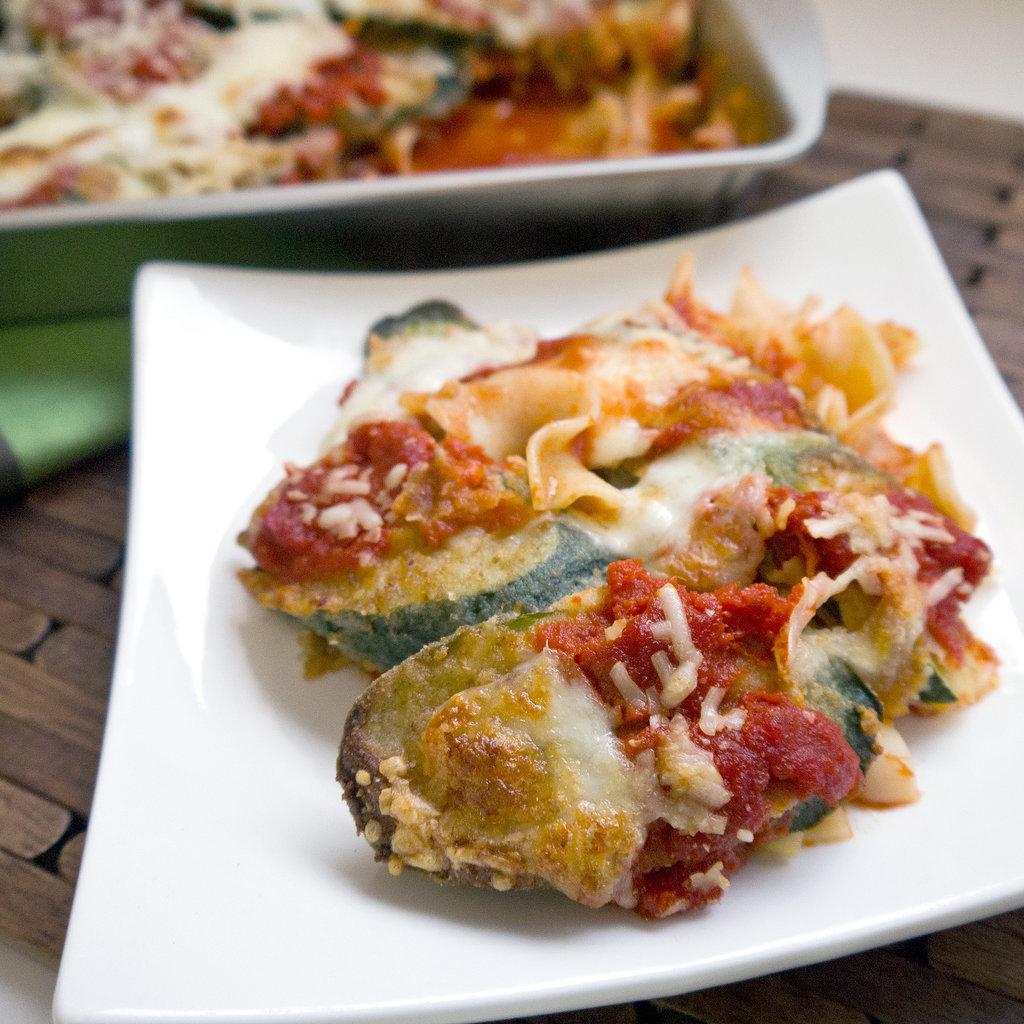 Stuffed Zucchini With Mortadella And Parmesan Recipe — Dishmaps
