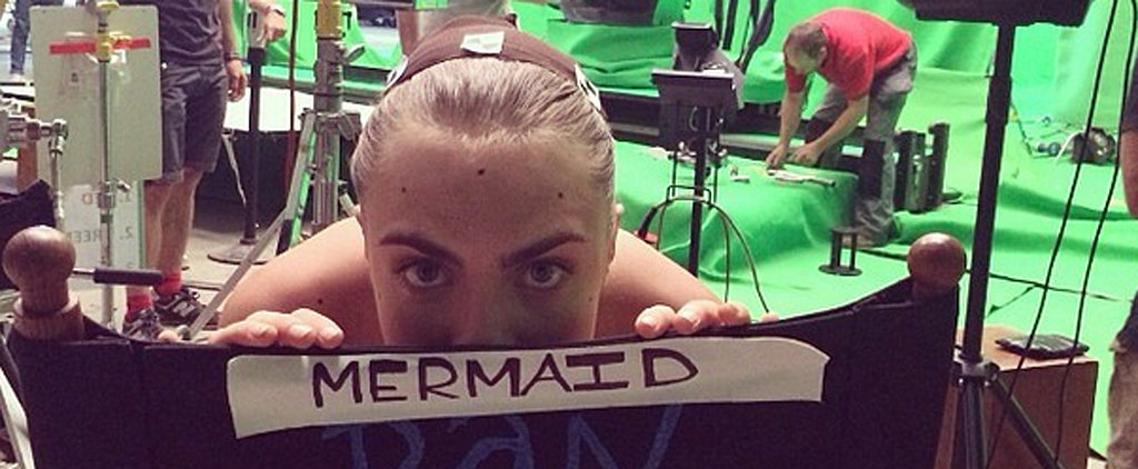 Here's Your First Look at Cara Delevingne in Next Summer's Pan