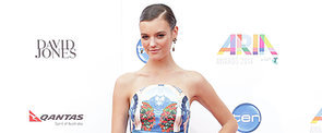Montana Cox Picks Alice McCall Prints at the ARIA Awards