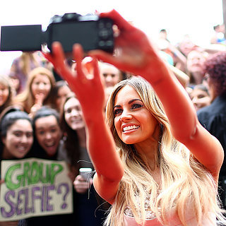 Celebrities Taking Selfies Pictures at 2014 ARIA Awards