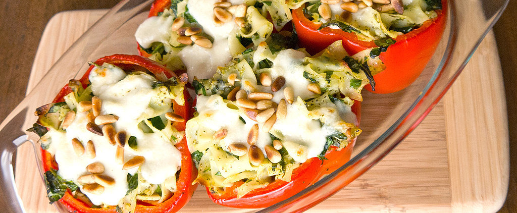Pasta-Stuffed Bell Peppers Done Right
