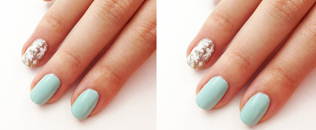 This Snowflake Nail Art DIY Is Perfect For When You're Stuck Inside