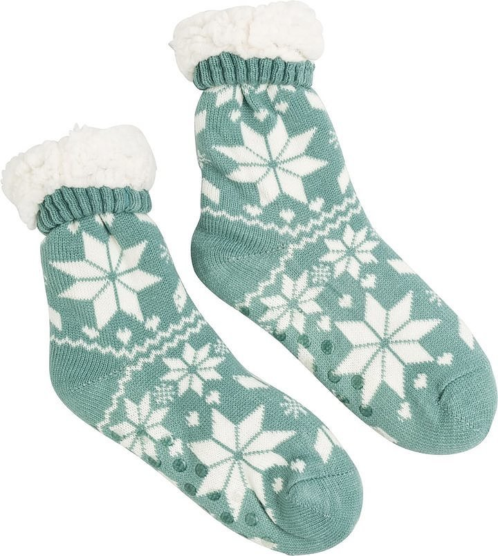 Swell Baby It's Cold Outside Slipper Sock