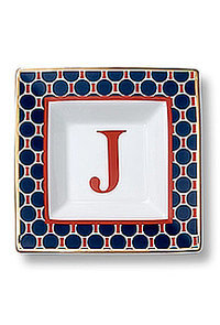 Monogram Square Dishes