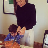Celebrity Thanksgiving Instagram Pictures 2014