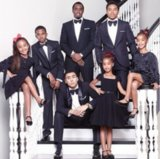 "P. Diddy & Kids: ""Happy Thanksgiving"""