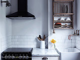 Drip Dry: 11 Kitchens with Wall-Mounted Dish Racks