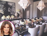 Khloe Kardashian Hosts Thanksgiving Dinner For First Time For Family -- See How She Did!