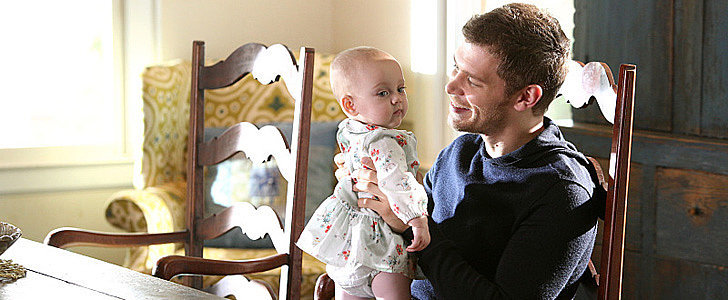 Klaus Holding His Baby on The Originals Will Melt Your Heart
